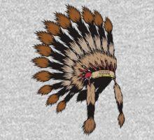 Iroquois war bannet T-Shirt