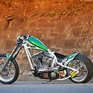 Hector Pedrol's Custom Chopper by HoskingInd