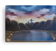 """The Wonderous Cross""  by Carter L. Shepard Canvas Print"