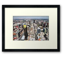 Downtown Johannesburg, South Africa Framed Print
