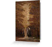 """Rustic Fall""  by Carter L. Shepard Greeting Card"