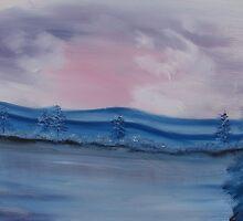 """""""Pastel Winter""""  by Carter L. Shepard by echoesofheaven"""