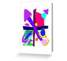 Victorious Olympic Soccer Game on TV Greeting Card