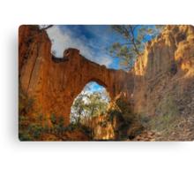 Golden Gully Arch. Metal Print