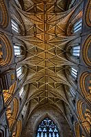 Malmesbury Abbey Ceiling by hebrideslight
