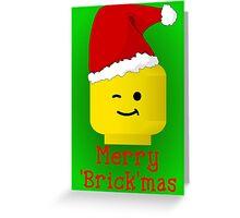 Santa Minifig - Merry 'Brick'mas Greeting Card