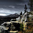 Mt. Washingtom ~ McKenzie Lava Beds ~ by Charles & Patricia   Harkins ~ Picture Oregon
