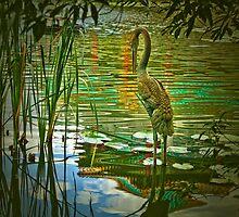 Koi Pond Sculpture by Lightengr