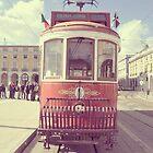 City Tour Tram, Lisbon, Portugal by Ana  Eugénio