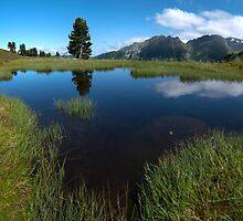 Hikers Paradise in Tirol by Brendan Schoon