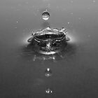 Silver drop by Christine Hingley