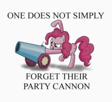 Pinkie Pie's Party Cannon by LegendaryFisher