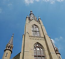 Sacred Heart Basilica at Notre Dame University by 313 Photography