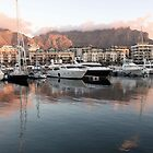 Table Mountain from the Marina - Cape Town by Paul Campbell Psychology