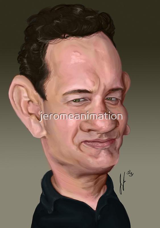 Tom hanks by jeromeanimation