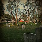 Howard Street Cemetery, Salem MA by lisa roberts