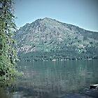 Lake Wenatchee Mountain by Ezra-David Saul