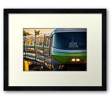 Monorail Monday - The Human Element Framed Print