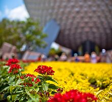Springtime In EPCOT by Scott Smith