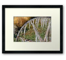 Pastures of Ice #3 Framed Print
