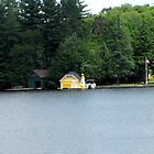 Lighthouse on Old Forge Pond, N.Y. by Patricia127