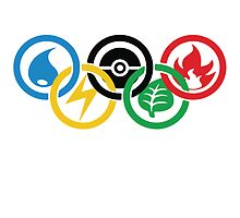 Olympic Pokemon by Joshua Hill