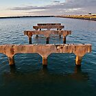 Old Hornibrook Bridge Brighton Qld Australia by PhotoJoJo