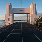 Toll Gate, Old Hornibrook Bridge, Qld Australia by PhotoJoJo