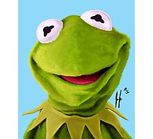 Mr. the Frog Photographic Print