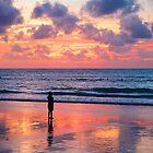 Sunset at Nai Yang Beach, Phuket, Thailand by Marc Maschhoff