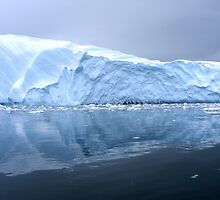 Antarctic Iceberg 1 by Rob Goforth
