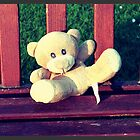 Bench teddy by Roxy J