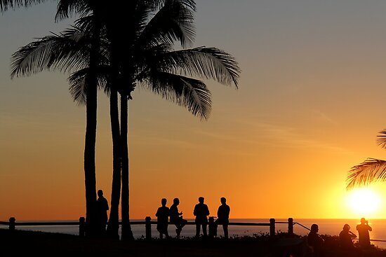 Sunset Cable Beach by SUBI