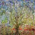 Tree of life retroreflective by Regina Valluzzi
