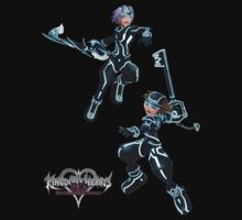 Kingdom Hearts: Dream Drop Distance The Grid version Sora & Riku by FilipeFL3