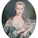 Sophia Myles as Madame de Pomadour by Amanda Clegg