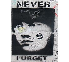 Never forget Berlin Photographic Print