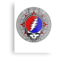 2012 Mayan Steal Your Face - Basic Color Metal Print