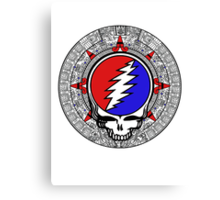 2012 Mayan Steal Your Face - Basic Color Canvas Print