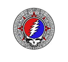 2012 Mayan Steal Your Face - Basic Color Photographic Print