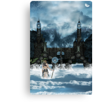 The Pilgrimage Canvas Print