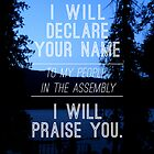 Psalm 22:22 by Ezra-David Saul
