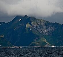 From the deck of the ferry you will have a perfect view of the Lofoten Islands. 2012 . by Andy Brown Sugar. by AndGoszcz