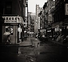 Rainy Day - Chinatown - New York City by Vivienne Gucwa