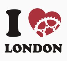 I Ride London Kids Clothes