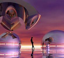 Trilogy by Sandra Bauser Digital Art
