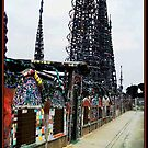 Watts Towers 1 by Glenn McCarthy