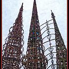 Watts Towers 2 by Glenn McCarthy