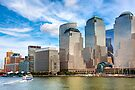 World Financial Center - Manhattan Waterfront by Mark Tisdale
