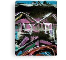 urban sites...... habitat #14 Canvas Print